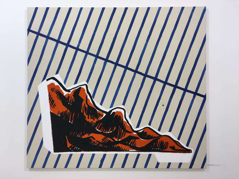 untitled, 2017, acrylic on canvas, 200x180cm