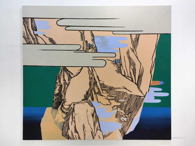 untitled, 2015, acrylic on canvas, 200x180cm