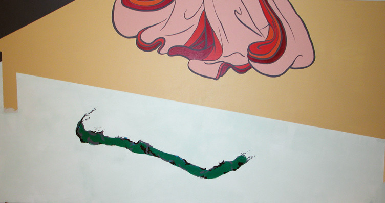 untitled, 2000, acrylic on canvas, 198x102cm