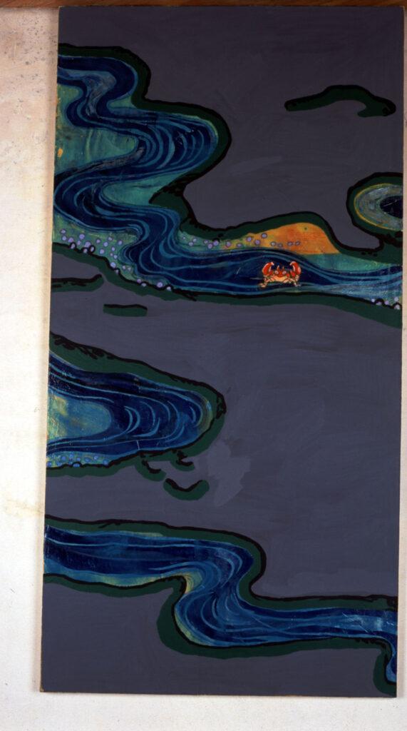 untitled, 2000, acrylic on canvas, 102x198cm
