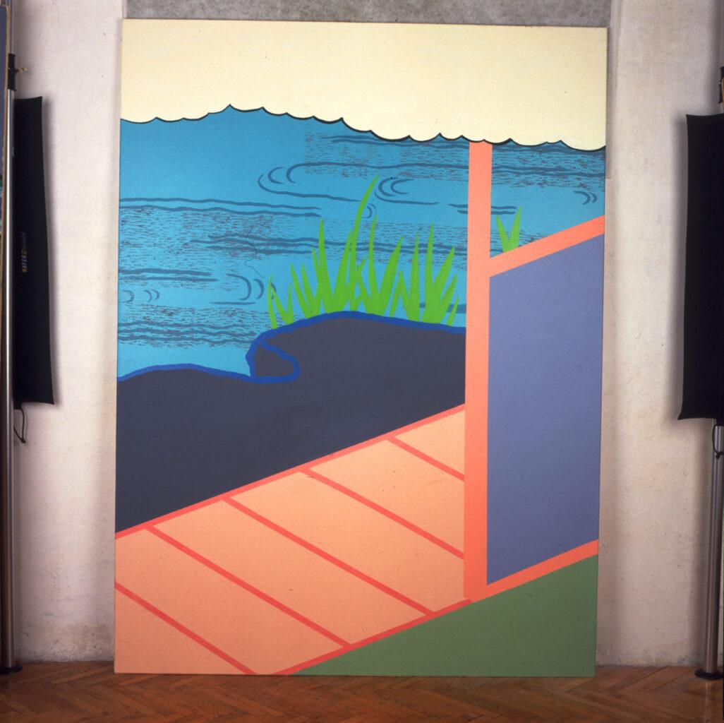 untitled, 2000, acrylic on canvas, 149x198cm
