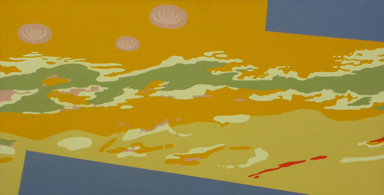 untitled, 2005, acrylic on canvas, 198x102cm