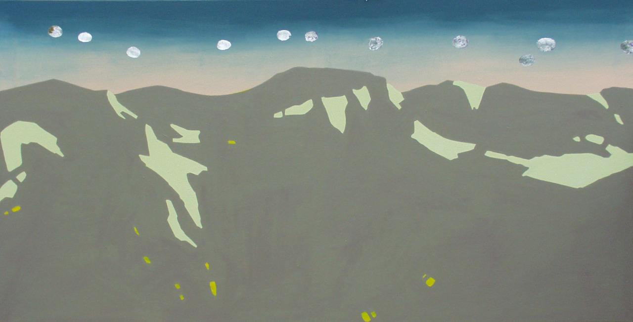 untitled, 2006, acrylic on canvas, 198x102cm