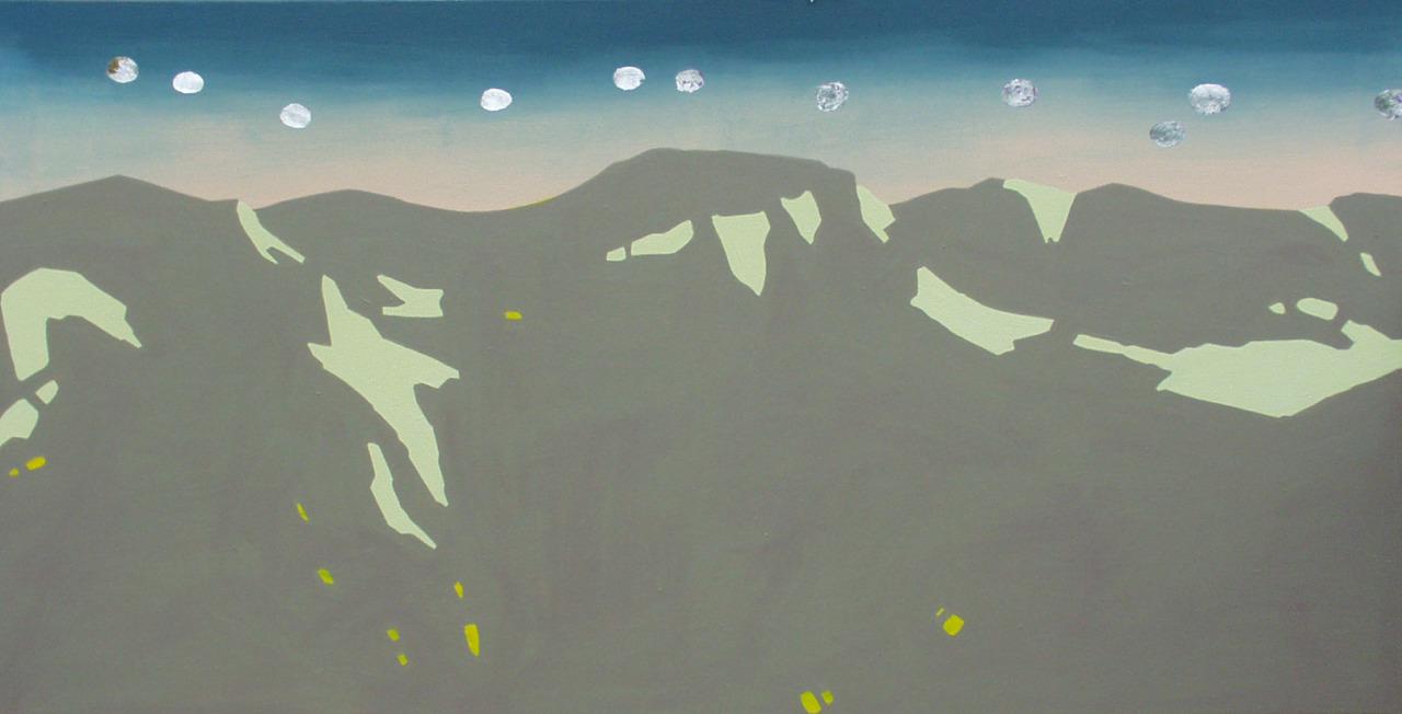 untitled, 2006, acrylic on canvas, 198x102cm