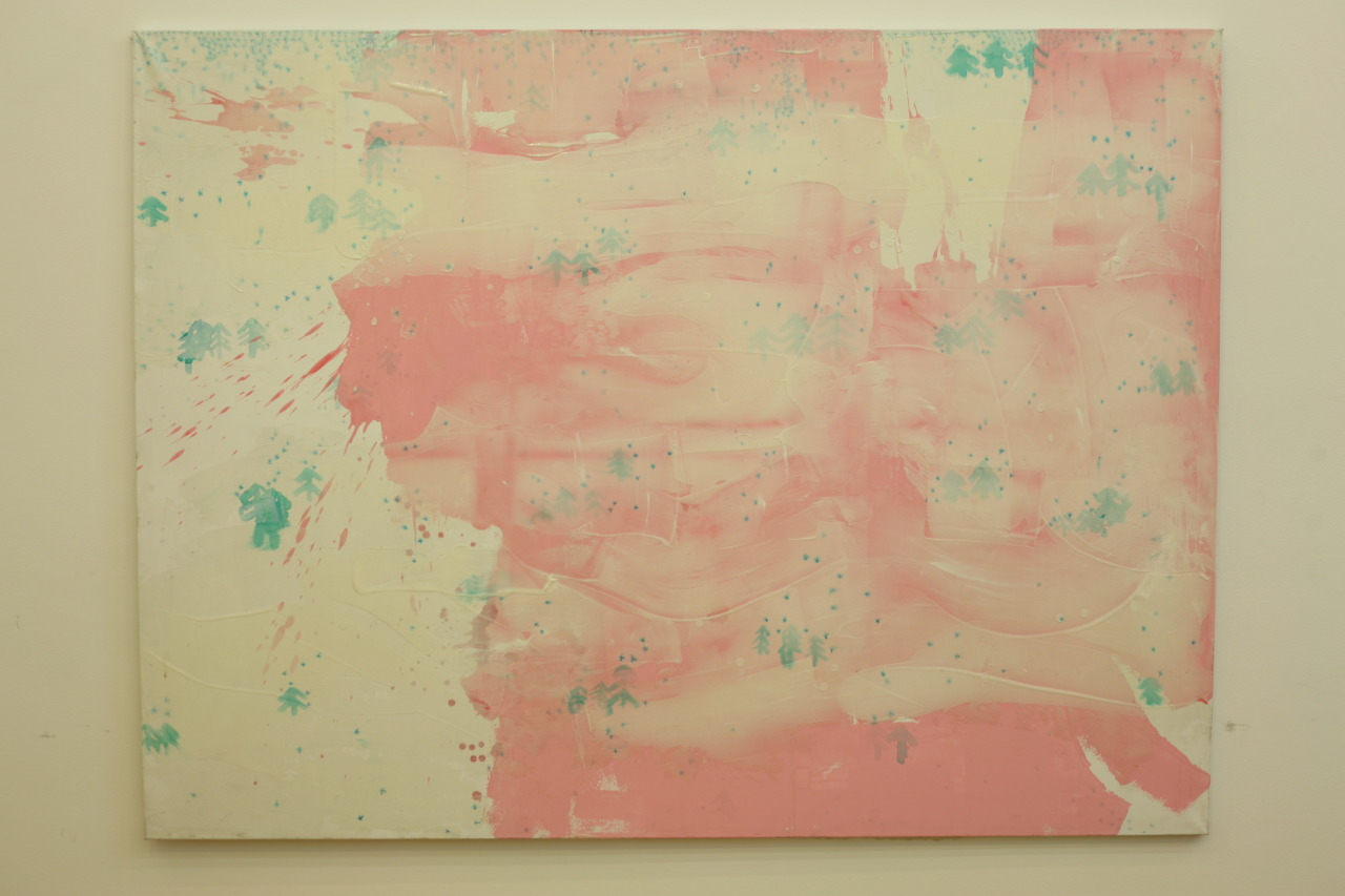 untitled, 2009, acrylic on canvas, 198x148cm