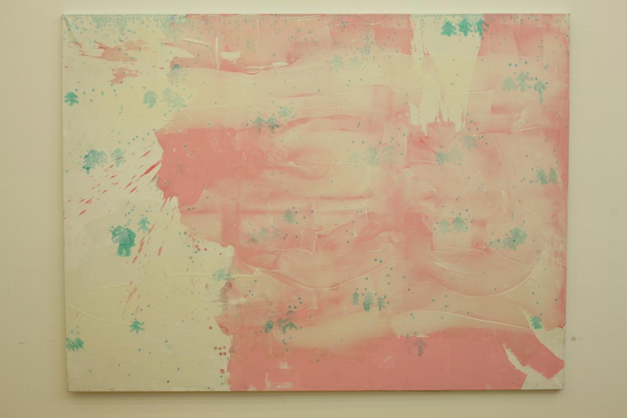 untitled, 2009, acrylic on canvas, 198x148cm