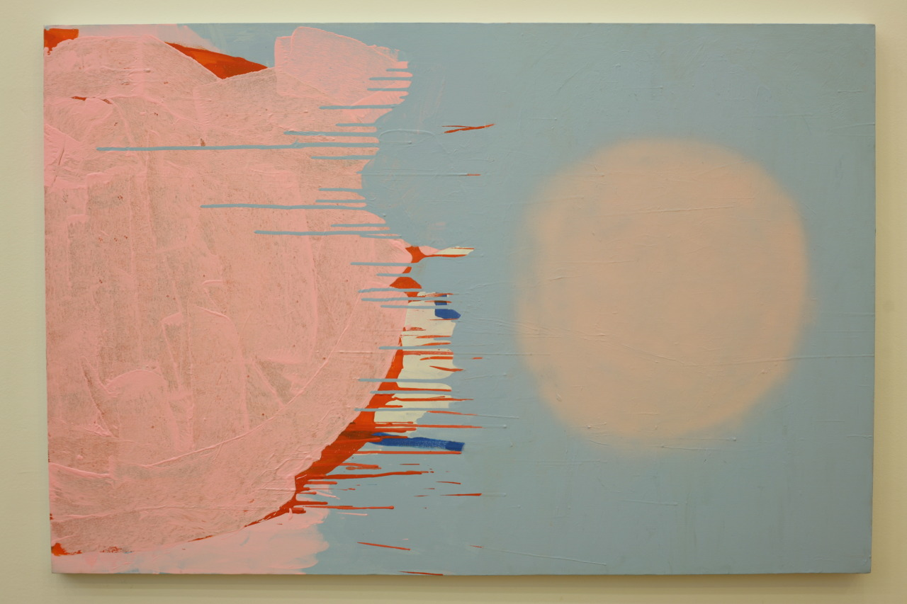 untitled, 2009, acrylic on canvas, 150x100cm
