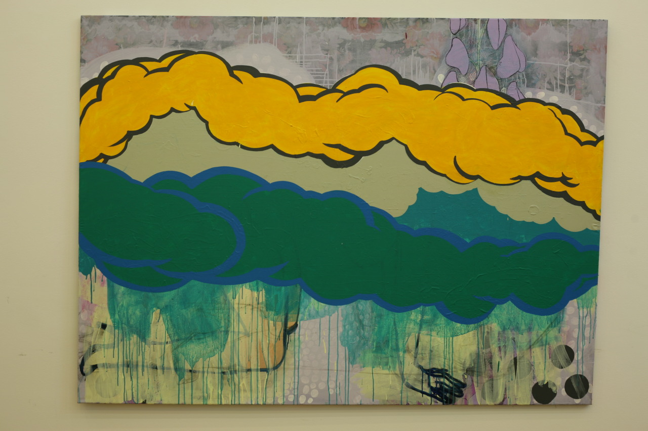 untitled, 2009, acrylic on canvas, 198x149cm