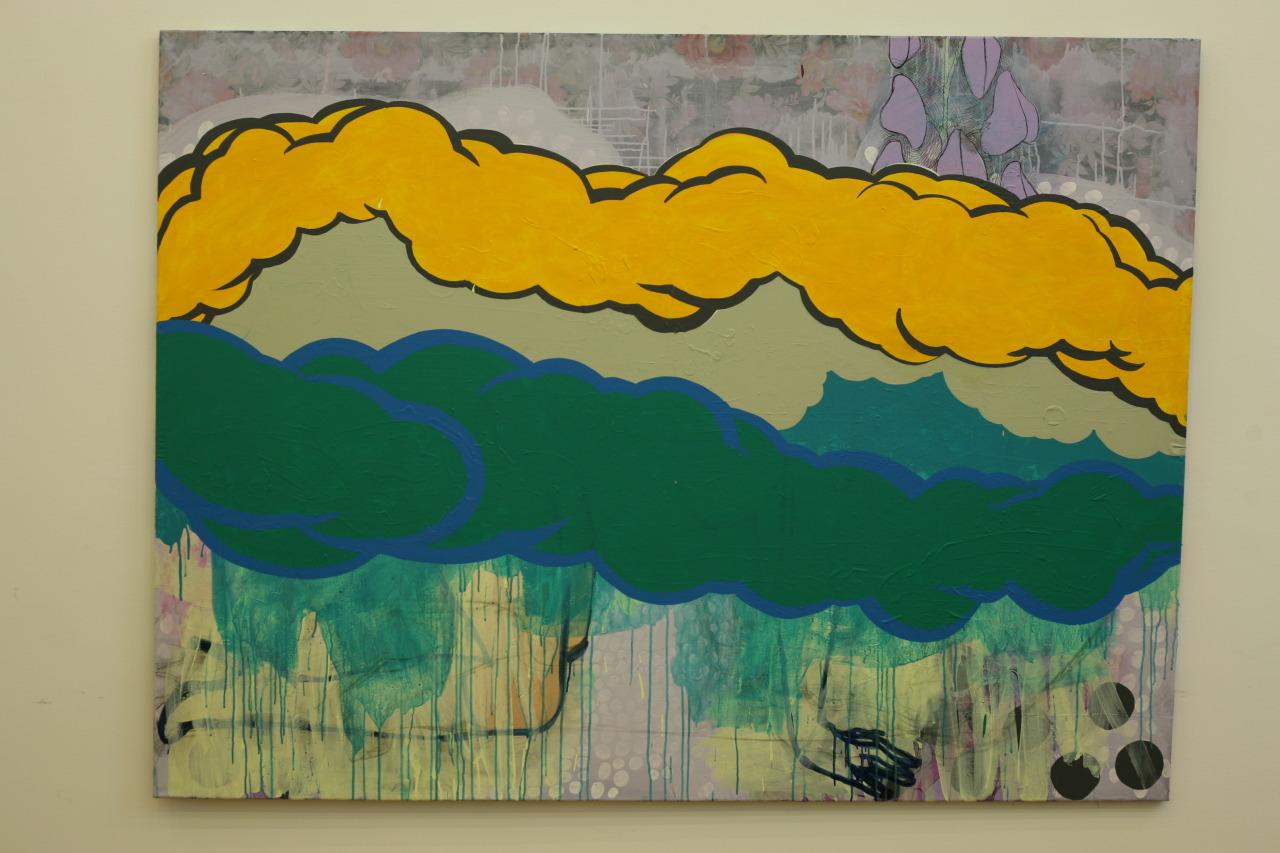 untitled, 2009, acrylic on canvas, 198x149cm