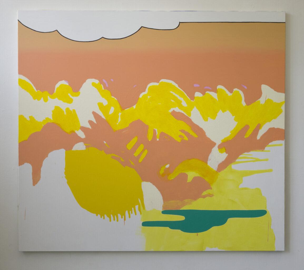 untitled, 2014, acrylic on canvas, 200x180cm